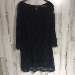Black Lace style & co 3X dress